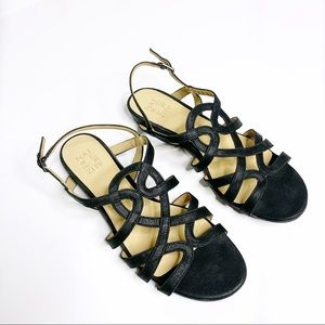 Naturalizer RAINE Sandal faux leather wide